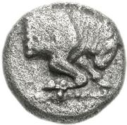 Obol (Phlious) – avers