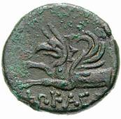 Bronze Æ17 (Phokaia) – revers