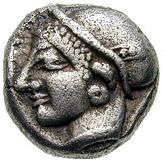 Trihemiobol (Phokaia) – avers