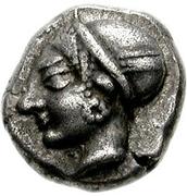 Diobol (Phokaia) – avers
