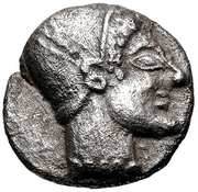 Obol (Phokaia) – avers