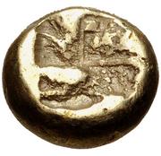 Myshemihekte (Phokaia) – revers