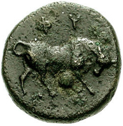 Bronze Æ12 (Phygela) – revers