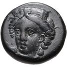 Bronze Æ11 (Phygela) – avers