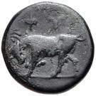 Bronze Æ11 (Phygela) – revers