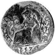 1 parpagliola Ottavio, Alessandro et Ranuccio Farnese – revers