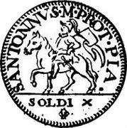 10 Soldi - Francesco I – revers