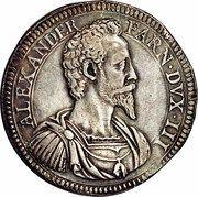 1 Scudo - Alessandro Farnese – avers