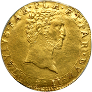 2 doppie Ottavio Farnese – avers