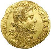 2 doppie Odardo Farnese – avers