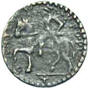 1 sesino  Ranuccio II Farnese – revers