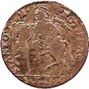 10 soldi - Ferdinando I di Borbone – revers