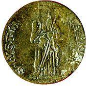 5 soldi Ranuccio II Farnese – revers