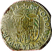 10 soldi Odoardo Farnese – avers