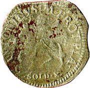 10 soldi Odoardo Farnese – revers