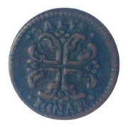1 Sesino - Ferdinando I di Borbone – revers