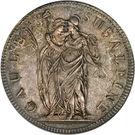 """5 francs """"Gaule Subalpine"""" – avers"""