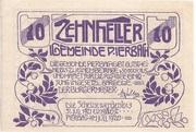 10 Heller (Pierbach) -  avers