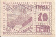 10 Heller (Pierbach) -  revers