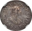 ½  Giulio, 1 Grosso - Cosimo III de'Medici – revers
