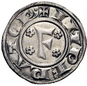 1 grosso - Frederick I – avers