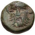 Bronze Æ10 (Pitane) – avers