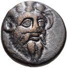 Bronze Æ14 (Pitane) – avers