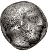 Hemiobol (Pitane) – avers