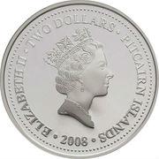 2 dollars Elizabeth II (HMAV Bounty; Gilt) – avers