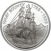 1 dollar - Elizabeth II (3eme effigie - H.M.A.V Bounty) – revers