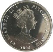 1 dollar - Elizabeth II (3eme effigie - 80 ans de la reine) – avers