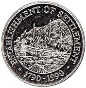 1 dollar - Elizabeth II (3eme effigie - colonie) -  revers