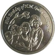 1 dollar - Elizabeth II (3eme effigie - 80 ans de la reine) – revers