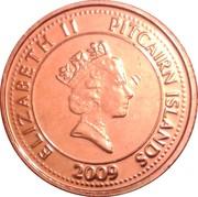 5 Cents - Elizabeth II (3eme effigie - ancre du Bounty) – avers
