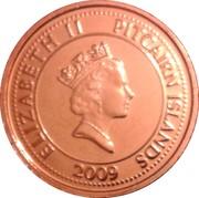 10 cents - Elizabeth II (3eme effigie - cloche du Bounty) – avers