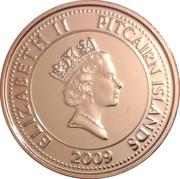 20 cents - Elizabeth II (3eme effigie - bible du Bounty) – avers