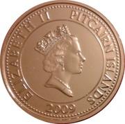 50 cents - Elizabeth II (3eme effigie - canot du Bounty) – avers