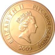 1 dollar - Elizabeth II (3eme effigie - canon du Bounty) – avers