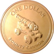 1 dollar - Elizabeth II (3eme effigie - canon du Bounty) – revers