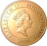 2 dollars - Elizabeth II (3eme effigie - barre du Bounty) – avers