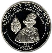 1 dollar - Elizabeth II (3ème effigie) – revers