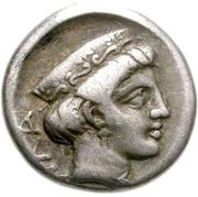Hemidrachm (Thebes) – revers