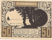 50 Pfennig (Plön) – revers
