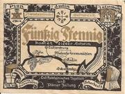 50 Pfennig (Plön) – avers