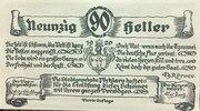 90 Heller (Pöchlarn) – revers
