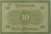 10 Pfennig (Pößneck) – revers