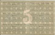 5 Mark (Pössneck) – revers