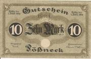 10 Mark (Pößneck) – avers
