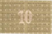 10 Mark (Pößneck) – revers