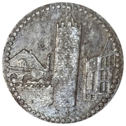 50 pfennig - Pössneck – revers
